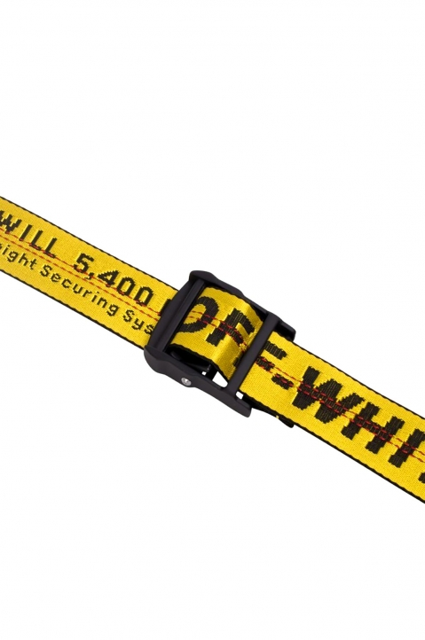 OFF-WHITE Yellow Industrial Belt  1