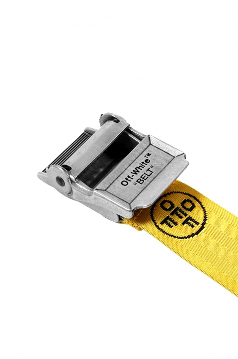 OFF-WHITE 2.0 Yellow Industrial Belt 2