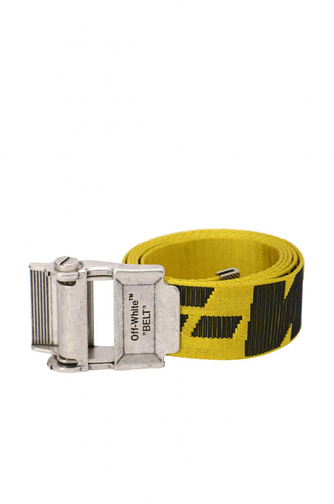 OFF-WHITE 2.0 Yellow Industrial Belt 0