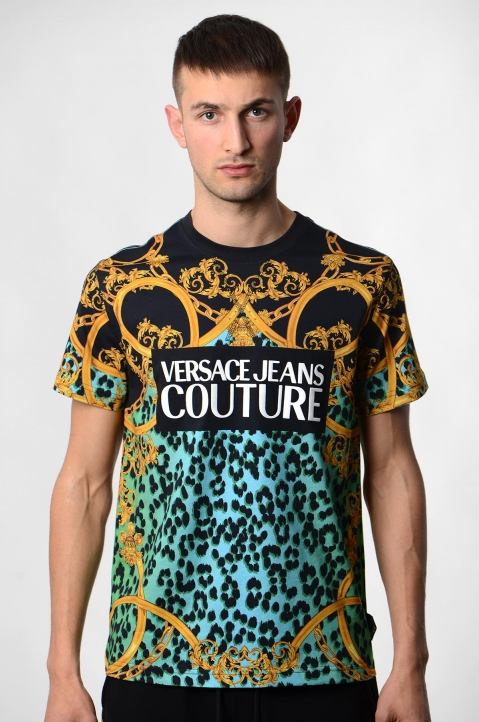 VERSACE JEANS COUTURE Leo Baroque Print Tee 1