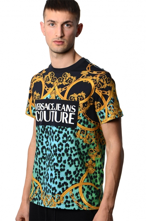 VERSACE JEANS COUTURE Leo Baroque Print Tee 0