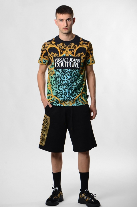 VERSACE JEANS COUTURE Leo Baroque Print Tee 3