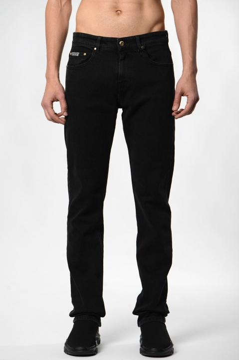 VERSACE JEANS COUTURE Milano Slim Black Jeans 1