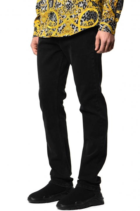 VERSACE JEANS COUTURE Milano Slim Black Jeans 0
