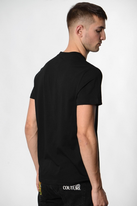 VERSACE JEANS COUTURE Black Logo Tee 2