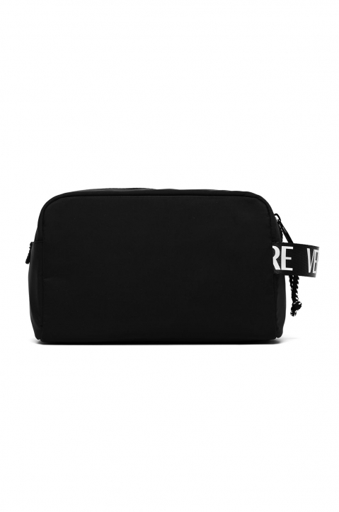VERSACE JEANS COUTURE Black Linea Logo Washing Bag 1