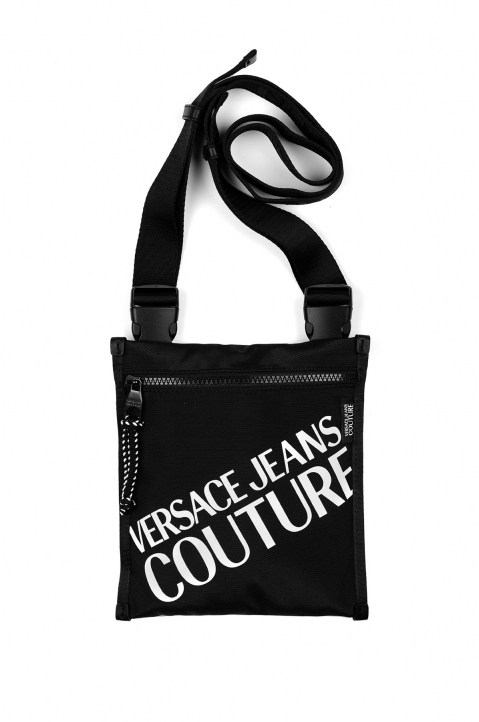 VERSACE JEANS COUTURE Macro Logo Linea Crossbody Bag  0