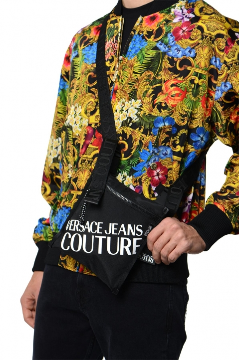 VERSACE JEANS COUTURE Macro Logo Linea Crossbody Bag  3