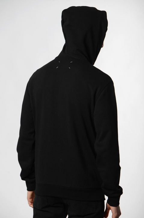 MAISON MARGIELA Black Hood Jacket 2