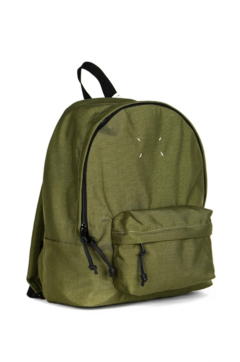 MAISON MARGIELA Green Stereotype Backpack 1