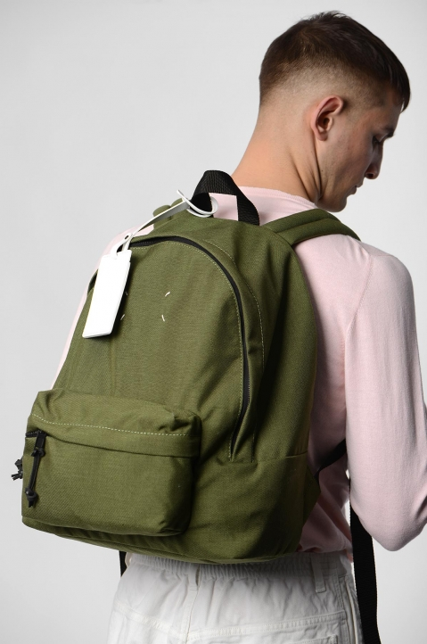 MAISON MARGIELA Green Stereotype Backpack 4