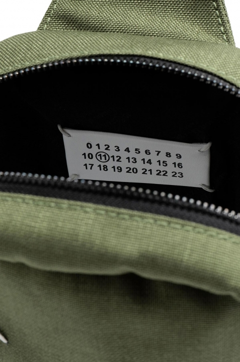 MAISON MARGIELA Green Cross Body Backpack  3