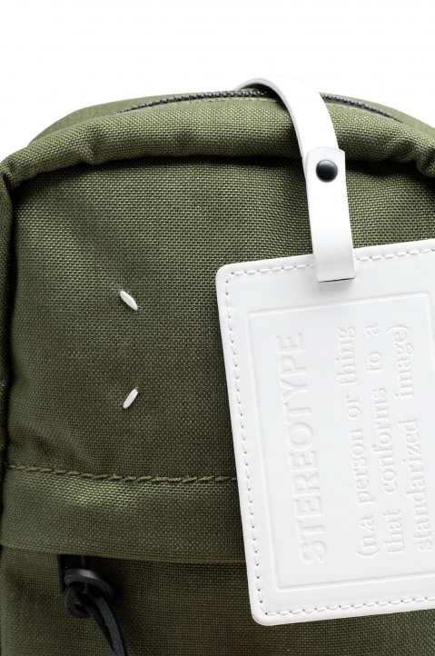 MAISON MARGIELA Green Cross Body Backpack  2