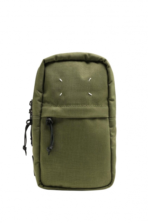 MAISON MARGIELA Green Cross Body Backpack  0