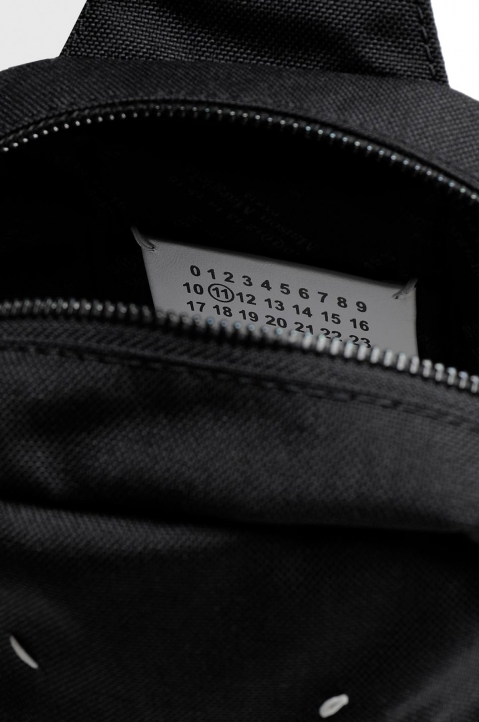 MAISON MARGIELA Black Cross Body Backpack  2