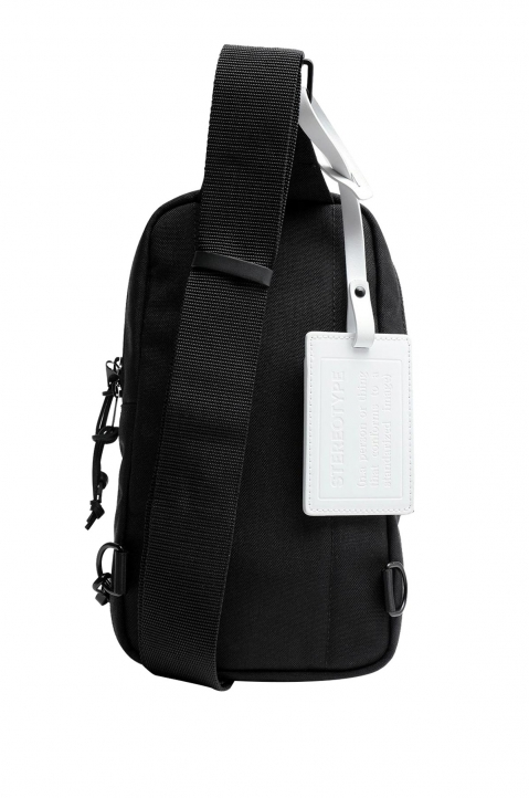 MAISON MARGIELA Black Cross Body Backpack  1