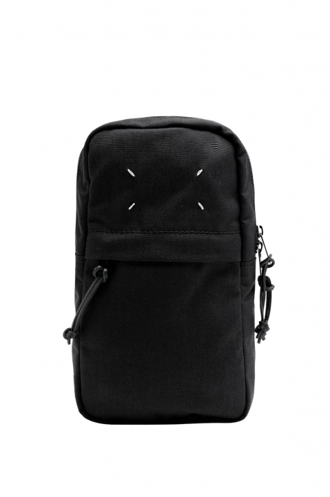 MAISON MARGIELA Black Cross Body Backpack  0