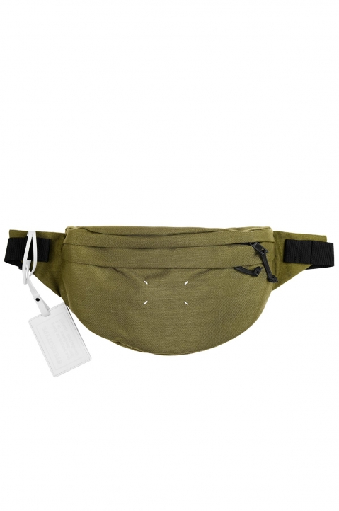 MAISON MARGIELA Green 4-stitches Bumbag 0