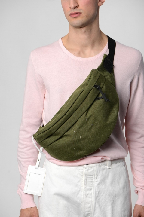 MAISON MARGIELA Green 4-stitches Bumbag 4