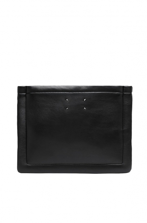MAISON MARGIELA Outline Leather Pouch 0
