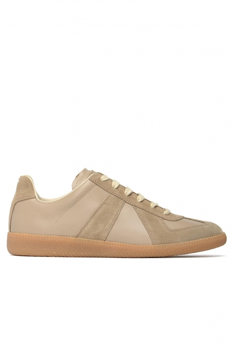 MAISON MARGIELA Replica Tan Sneakers 0
