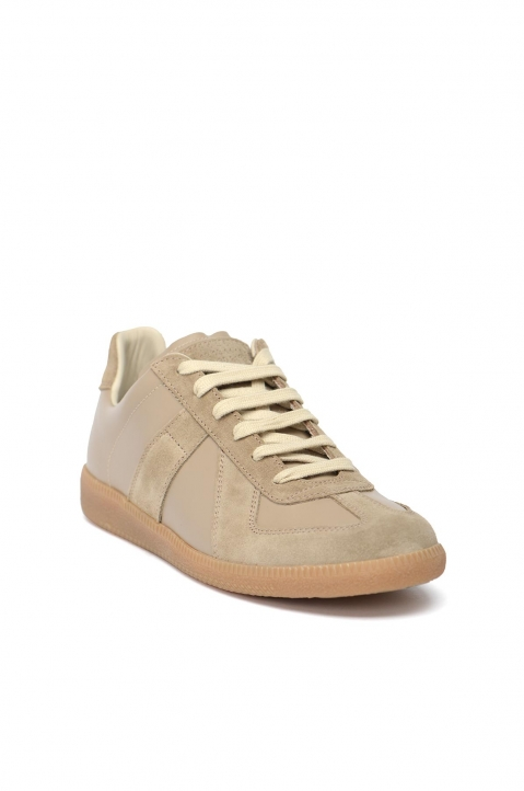 MAISON MARGIELA Replica Tan Sneakers 1
