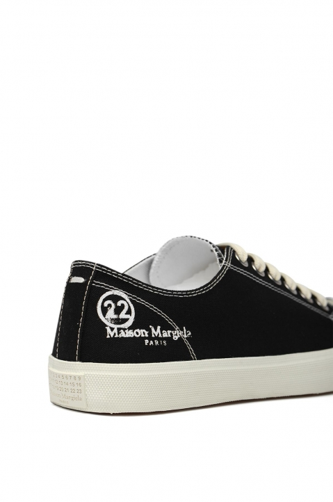 MAISON MARGIELA Black Canvas Tabi Sneakers 3