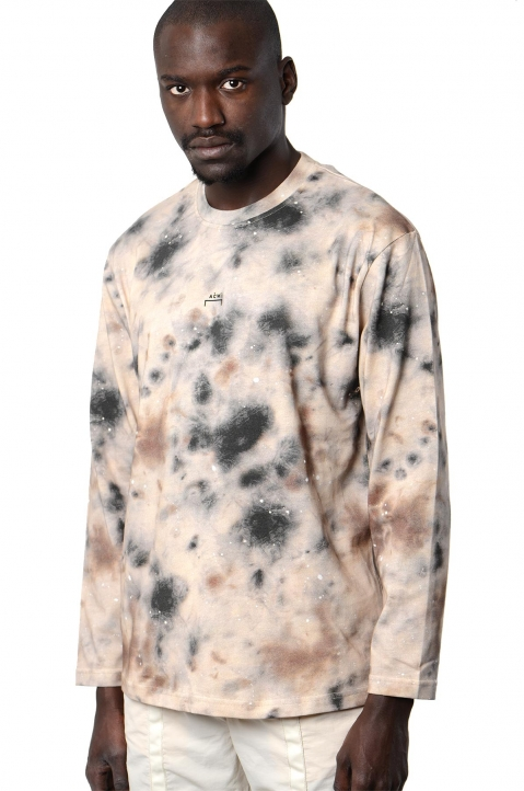 ACW* X DISEL Brown Stain L/S Tee 0