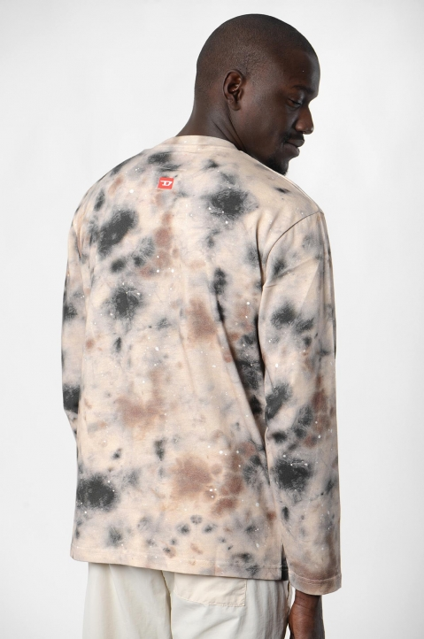 ACW* X DISEL Brown Stain L/S Tee 2