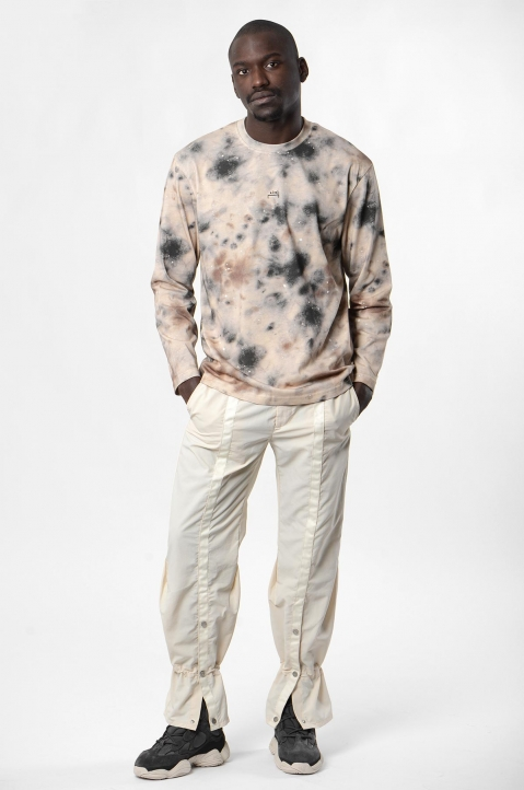ACW* X DISEL Brown Stain L/S Tee 3