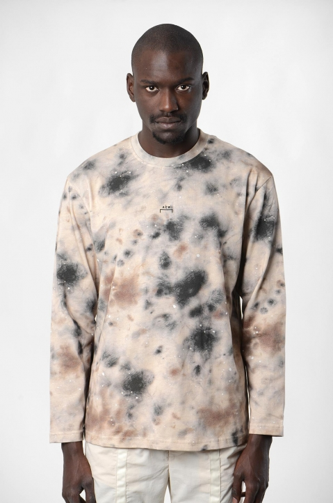 ACW* X DISEL Brown Stain L/S Tee 1