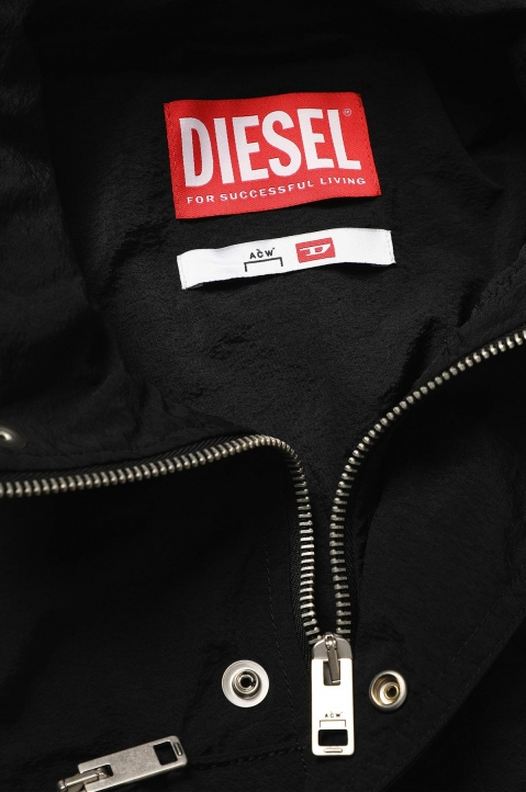 ACW* X DIESEL Black Overdyed Jacket  5