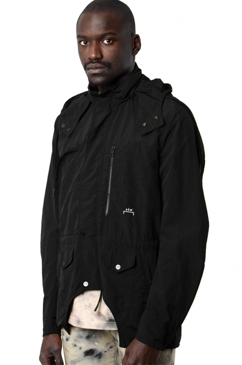 ACW* X DIESEL Black Overdyed Jacket  0