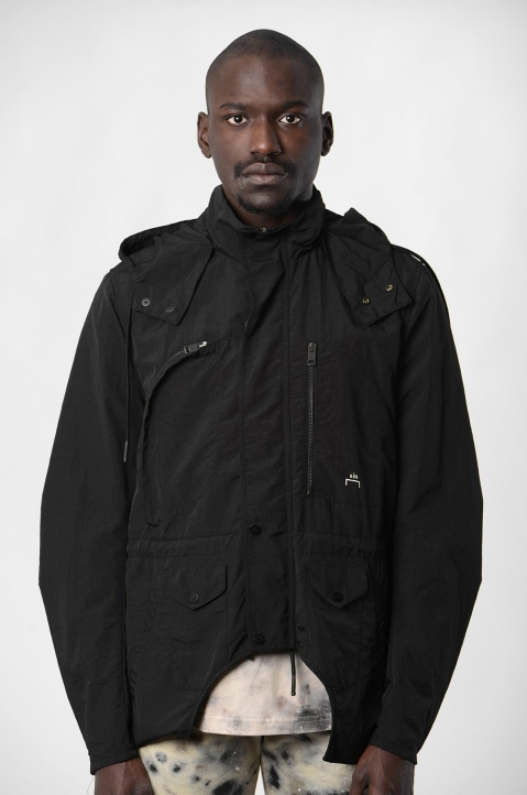 ACW* X DIESEL Black Overdyed Jacket  1