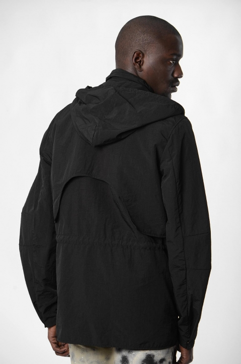 ACW* X DIESEL Black Overdyed Jacket  2