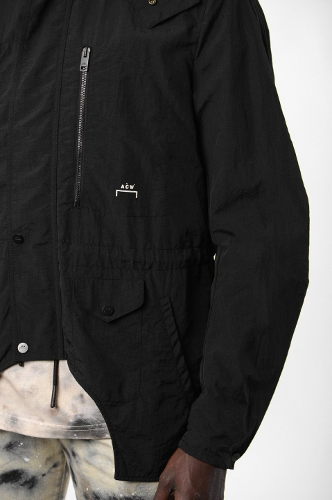 ACW* X DIESEL Black Overdyed Jacket  8