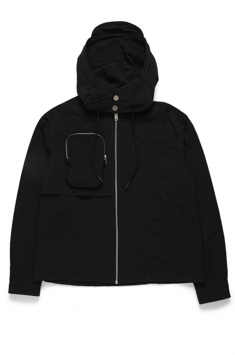 ACW* X DIESEL Black Channel Stitch Jacket  5