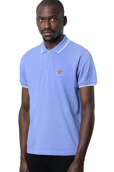 KENZO Blue Tiger K Fit Polo-Shirt 0