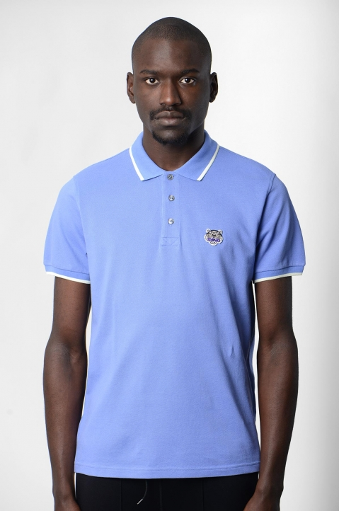 KENZO Blue Tiger K Fit Polo-Shirt 1