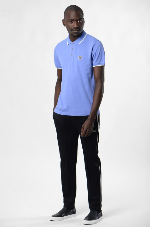 KENZO Blue Tiger K Fit Polo-Shirt 3
