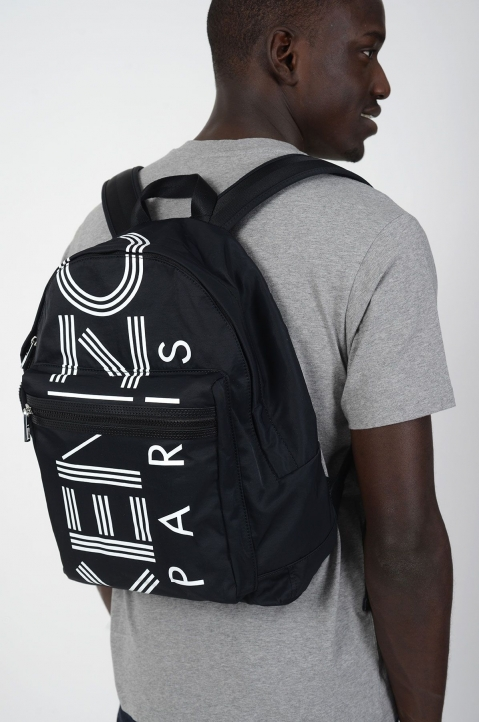 KENZO Sports Black Backpack 2