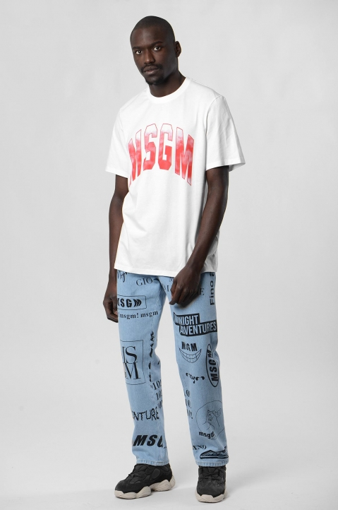 MSGM Graphic Jeans 3