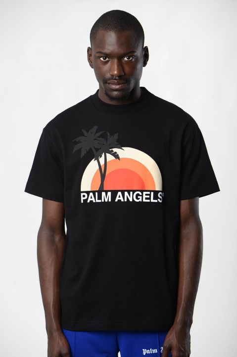 PALM ANGELS Black Sunset See  1