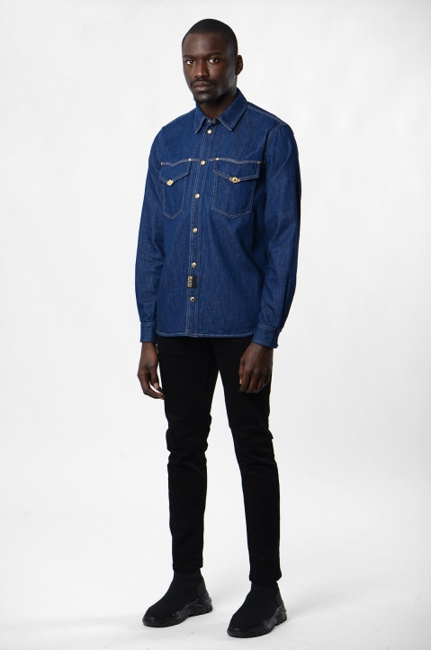 VERSACE JEANS COUTURE Icon Denim Shirt 3