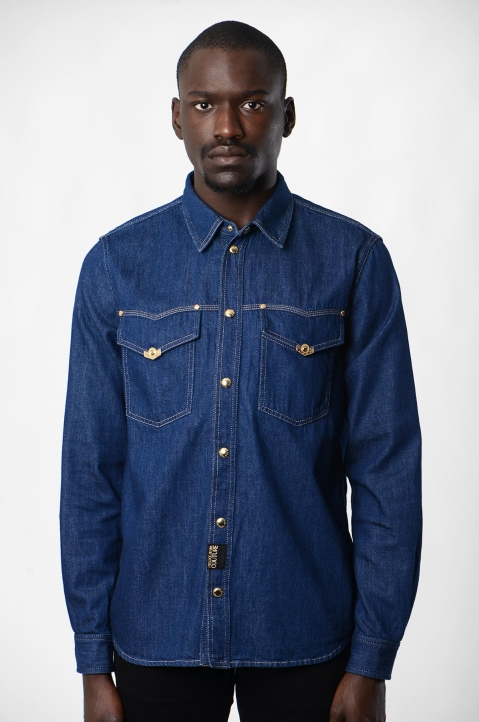 VERSACE JEANS COUTURE Icon Denim Shirt 1