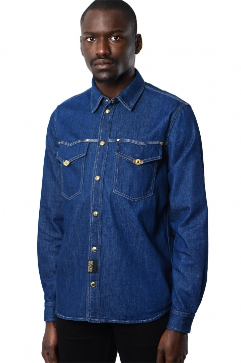 VERSACE JEANS COUTURE Icon Denim Shirt 0