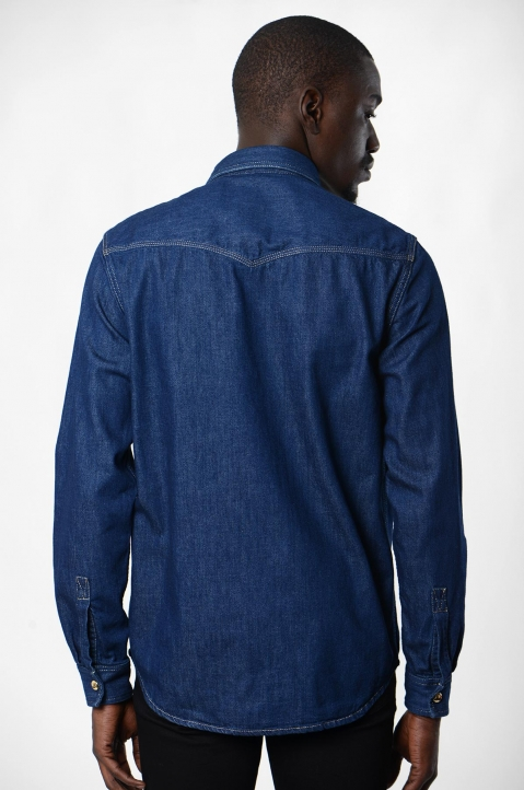 VERSACE JEANS COUTURE Icon Denim Shirt 2