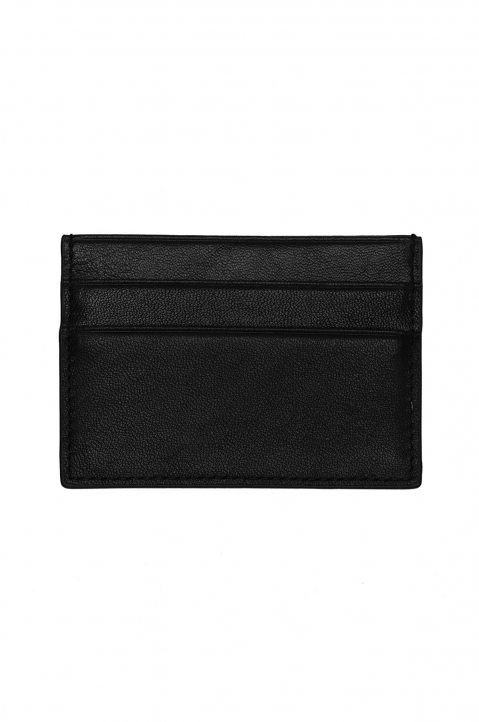VERSACE JEANS COUTURE Logo Black Card Holder 1