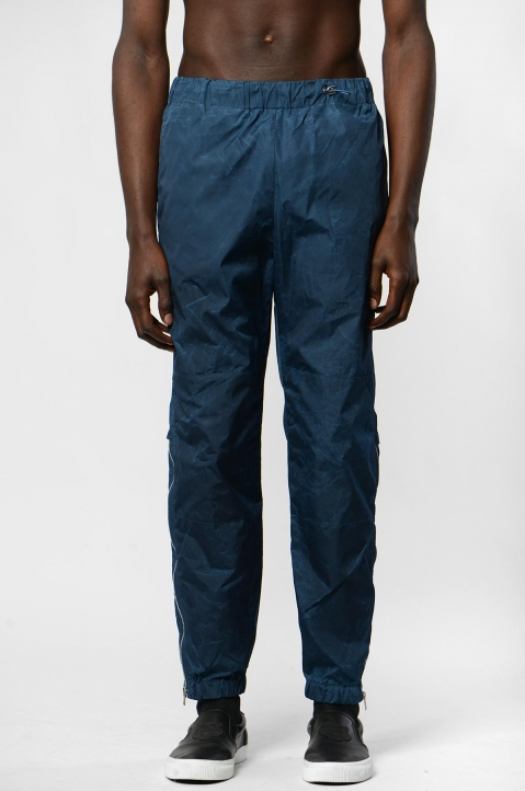 KENZO Blue Patched Jogger Pant 1
