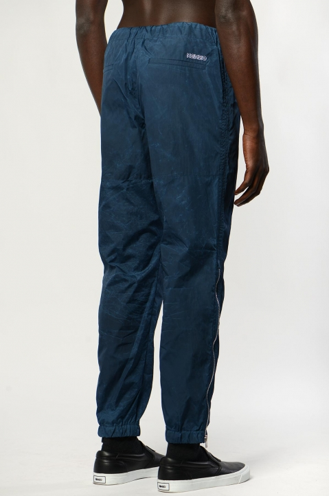 KENZO Blue Patched Jogger Pant 2